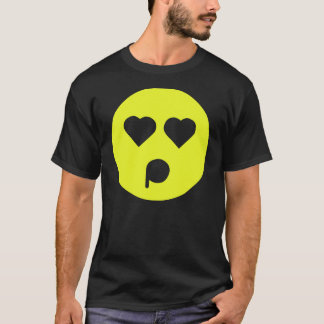 Yellow Infatuated Emoticon T-Shirt