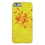 yellow iPhone 6 case.