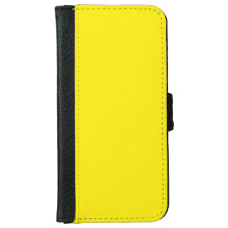 """Yellow"" iPhone 6 Wallet Case"