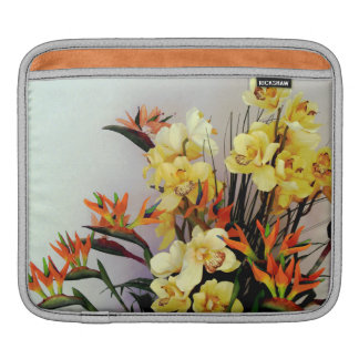 Yellow Iris Flower Arrangement Sleeves For iPads