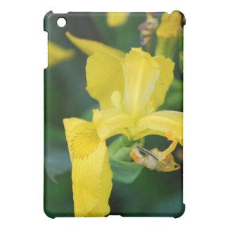 Yellow Iris iPad Case