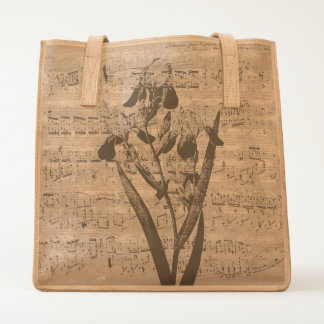 yellow iris music tote