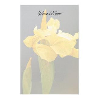 Yellow Iris stationary Stationery