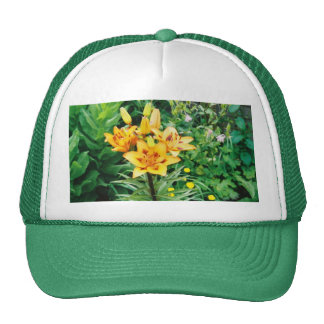 Yellow Iris Trucker Hat