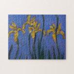 Yellow Irises Jigsaw Puzzles