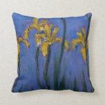 Yellow Irises Pillows