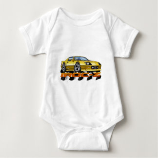Yellow IROC Z Baby Bodysuit