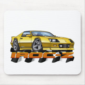 Yellow IROC Z Mouse Pad
