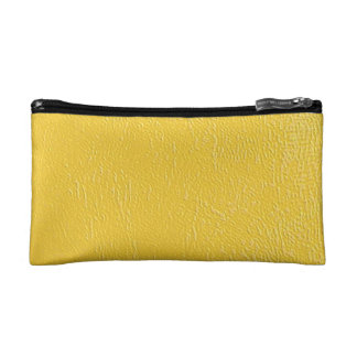 Yellow Is An Attention Getter Makeup Bag