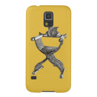 Yellow italian chair case for galaxy s5