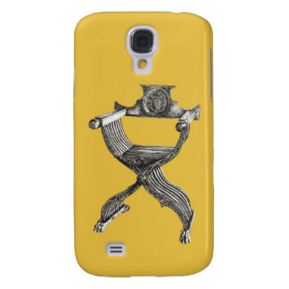 Yellow italian chair samsung galaxy s4 cover