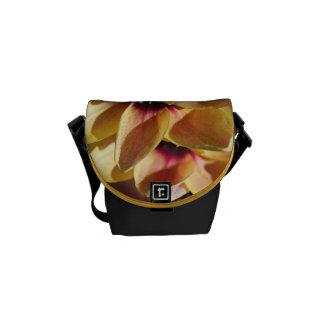 Yellow Ixia Flower Mini Messenger Bag