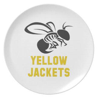 YELLOW JACKET PLATES