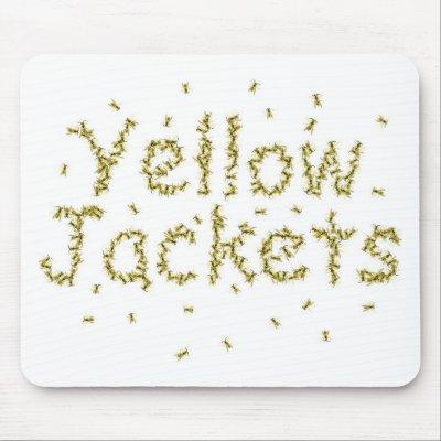 Yellow Jackets Mousepad $ 10.95