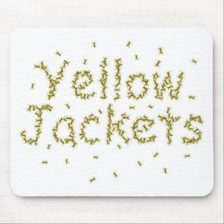Yellow Jackets Mouse Mat