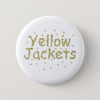 Yellow Jackets Pinback Button