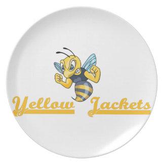 YELLOW JACKETS PLATE