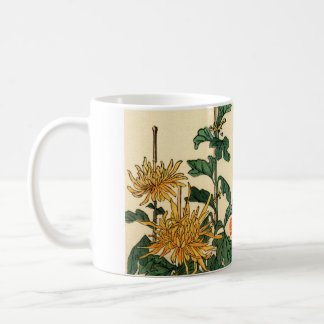 Yellow Japanese Flowers no.2 Mug