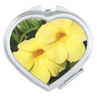 Yellow Jasmine Flower of the Caribbean photo Compact Mirror