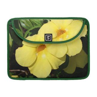 Yellow Jasmine flower photo MacBook Pro Sleeve