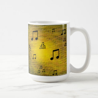 Yellow Jazz Art Mug