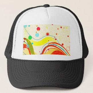 Yellow Jazz Poster Trucker Hat