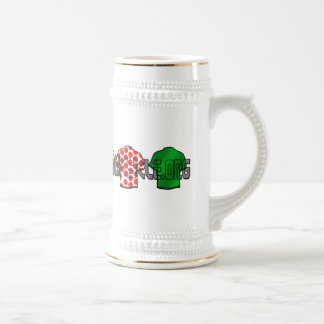 Yellow Jersey Green Jersey King of the mountains Beer Stein
