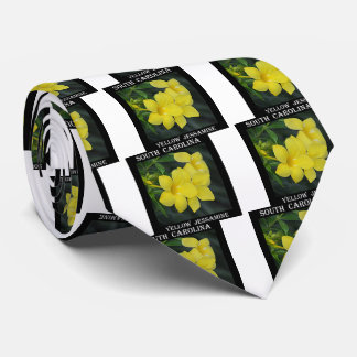 Yellow Jessamine South Carolina Tie
