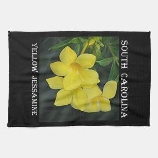 Yellow Jessamine South Carolina Towel