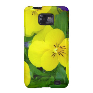 Yellow Johnny Jump Ups  Samsung Galaxy Case Galaxy S2 Case