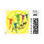 Yellow Jumpin' Up! Postage