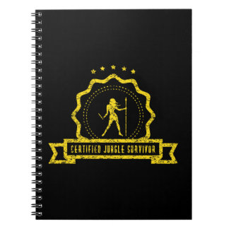 Yellow Jungle Seal Notebook