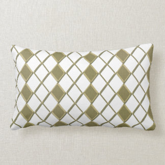 Yellow Karo sample cushion