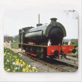 yellow Kent & East Sussex Railway, Tenterden, Kent Mouse Pad