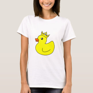 Yellow King Rubber Duck T-Shirt