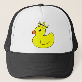Yellow King Rubber Duck Trucker Hat