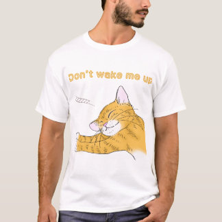 Yellow kitten which dozes T-Shirt