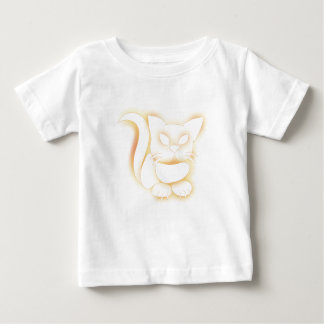 Yellow Kitty Baby T-Shirt
