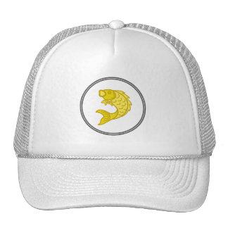 Yellow Koi Fish - Fish Prawn Crab Collection Trucker Hat