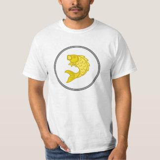Yellow Koi Fish - Fish Prawn Crab T-Shirt