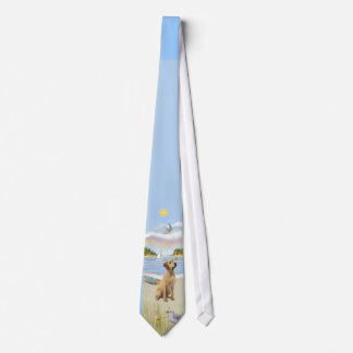Yellow Lab #8 - Rowboat Neck Tie