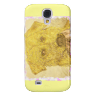 yellow lab art galaxy s4 cases