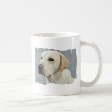 Coffee Themed Yellow Lab  Coffee Mug