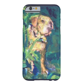 Yellow Lab Creek Painting Phone Case