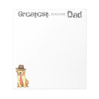 Yellow Lab Dad Notepad
