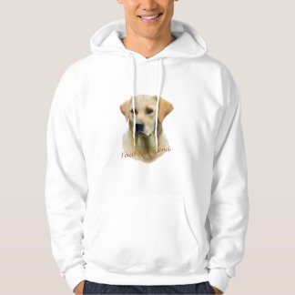 Yellow Lab Fathful Friend for Apparel Hooded Pullover