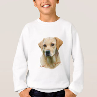 Yellow Lab Fathful Friend for Apparel Sweatshirt