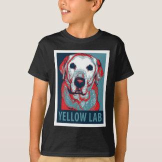 Yellow Lab Hope Political Parody Design T-Shirt