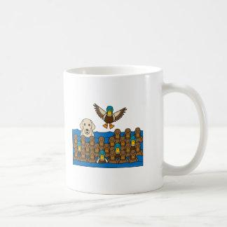 Yellow Lab in the Ducks Coffee Mug