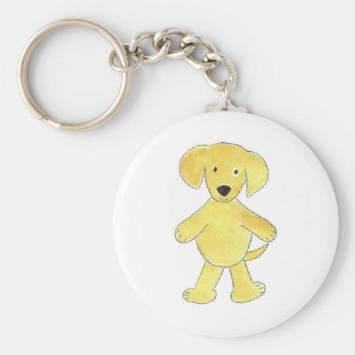 Yellow Lab Keychain